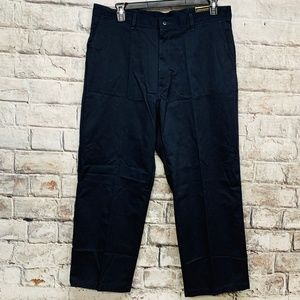 Dickies Work Pants 38 x 28 Blue Relaxed